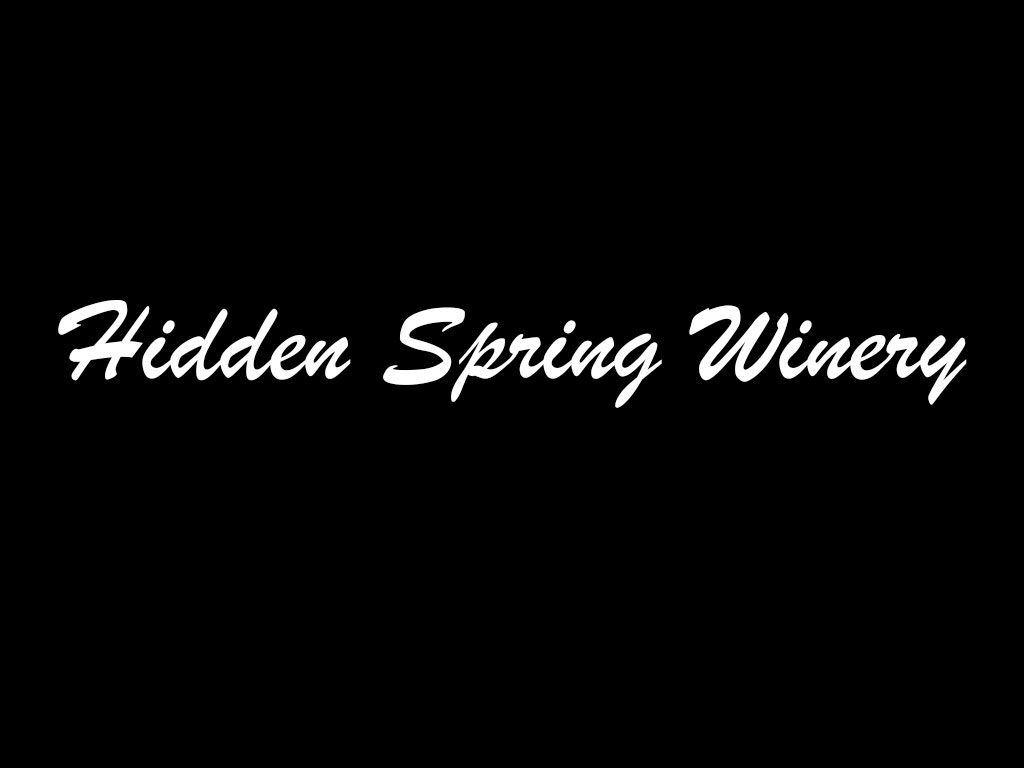 Hidden Spring Winery