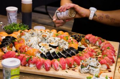 Sip & Sushi with Chef Kimberly Roth: Wed May 22