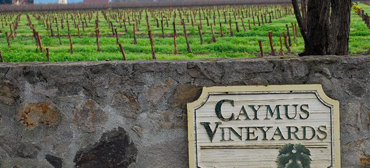 Caymus Wine Tasting