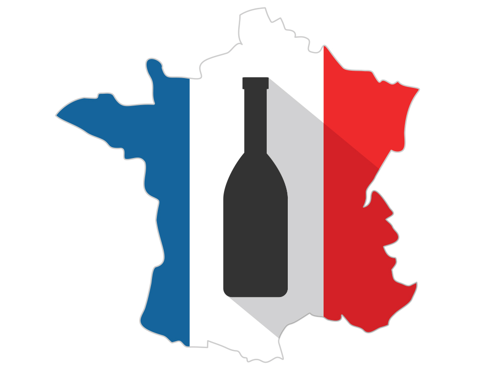 French Wine List - Flag