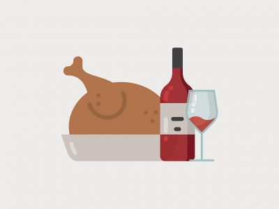 WHAT CAME FIRST, THE CHICKEN OR THE WINE?