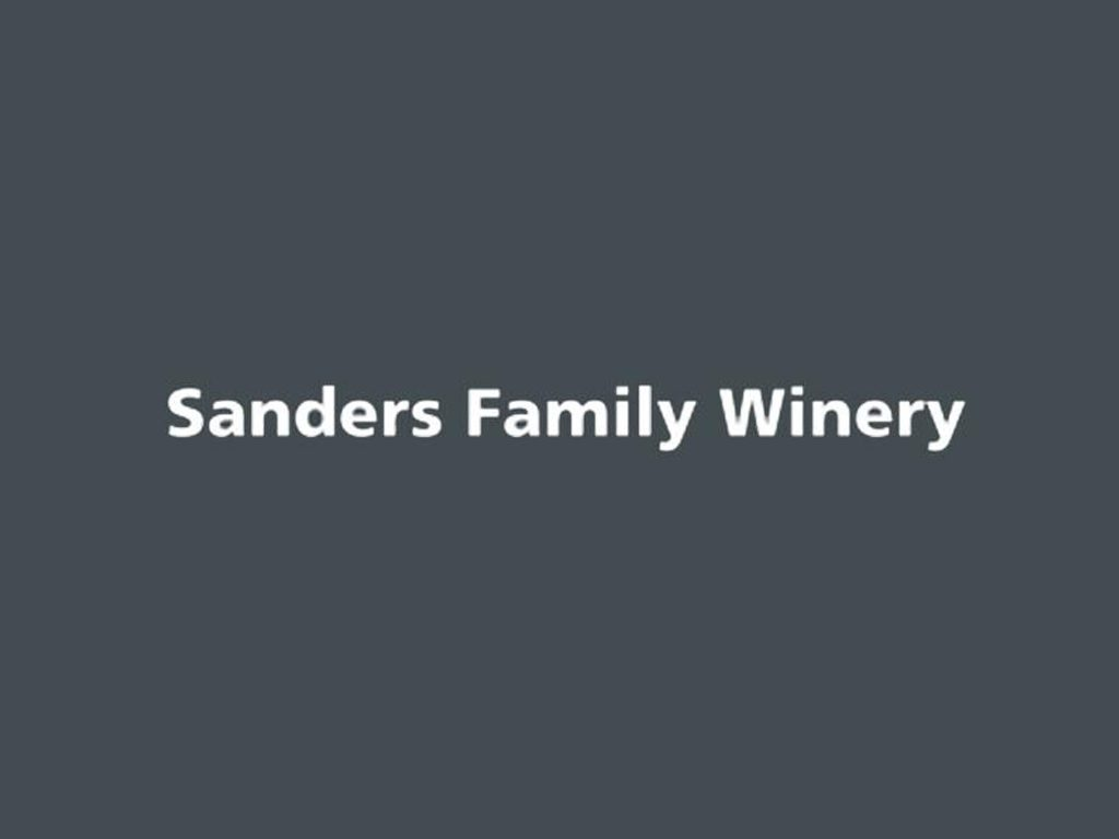 Sanders Family Winery