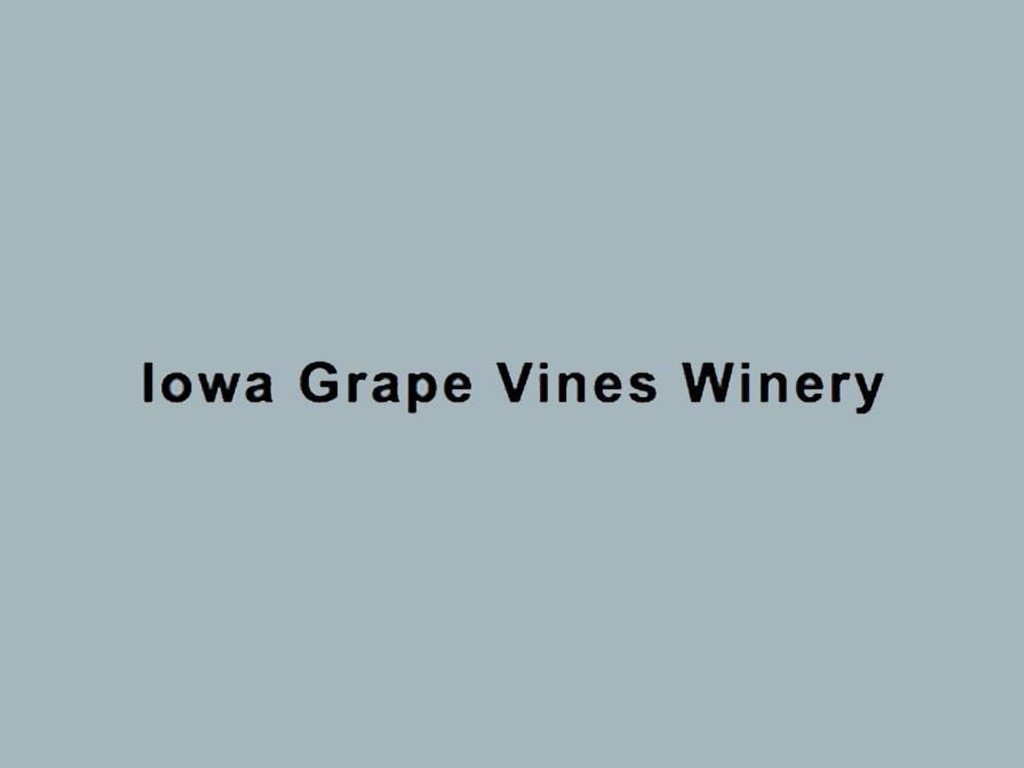 Iowa Grape Vines Winery
