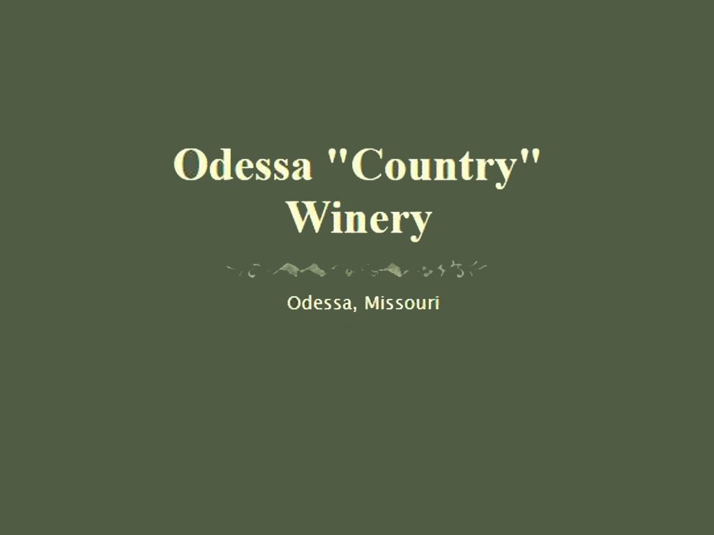 Odessa Country Winery