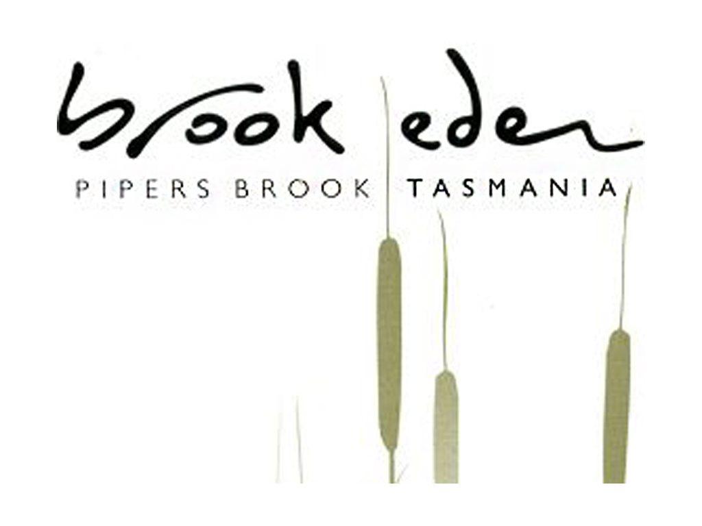 brook eden vineyard  australia  tasmania  lebrina