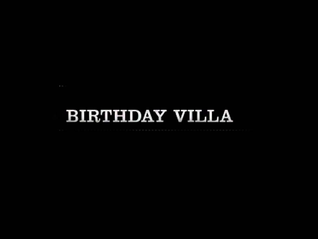 Birthday Villa