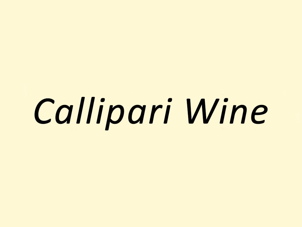 Callipari Wine and Food