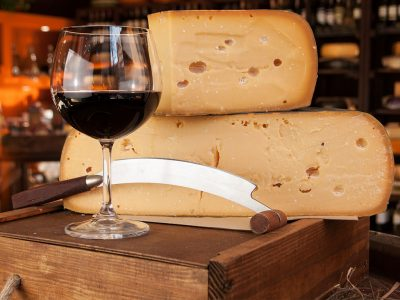 WHY DOES CHEESE GO SO WELL WITH WINE?