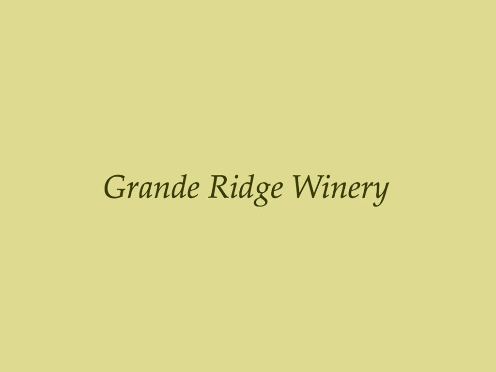 Grande Ridge Winery