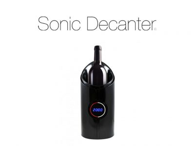 ALL ABOUT THE SONIC DECANTER