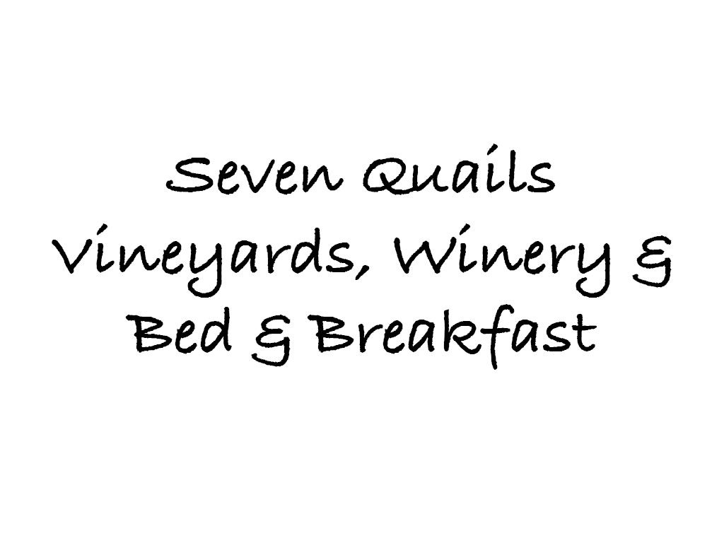 Seven Quails Vineyards, Winery & Bed & Breakfast