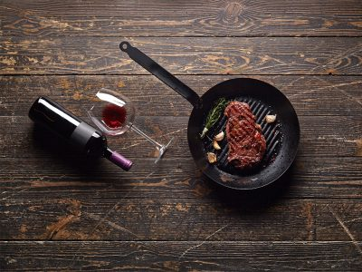 ULTIMATE COMBINATIONS OF WINE AND STEAK