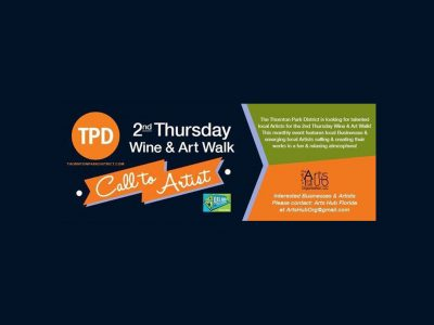Thornton Park District 2nd Thursday Wine & Art Walk