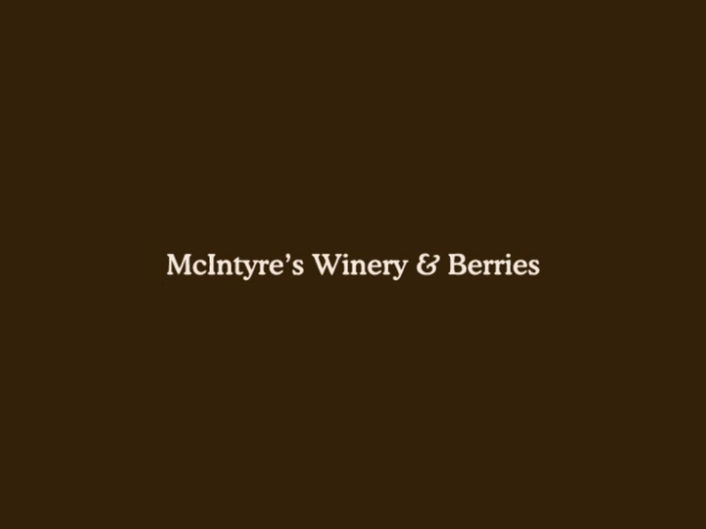 McIntyre's Winery & Berries