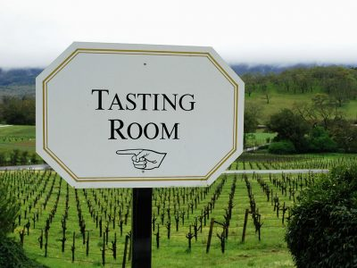 WHAT TO EXPECT IN THE WINE TASTING ROOM
