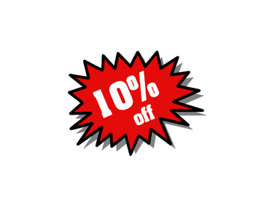 10% Off on a Case