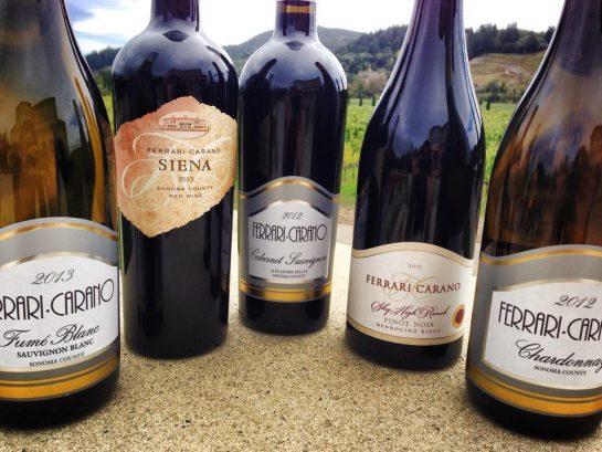 ferrari-carano vineyards & winery, united states, california