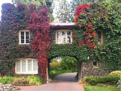 The Gatehouse dressed for Fall
