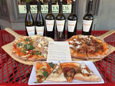 $20 off Pizza and Wine Pairing Lunch for 4